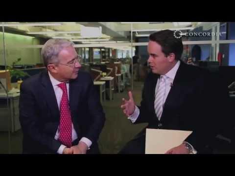 Leadership Series: President Álvaro Uribe