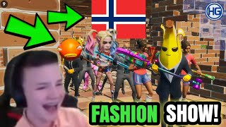 Fortnite FASHION SHOW #6! *BESTE SLUTTEN😂* 17. Mai Tema (DEL 2)