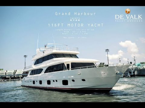 2017 GRAND HARBOUR 116' MOTOR YACHT