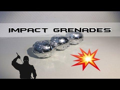 How To Make NINJA IMPACT GRENADES