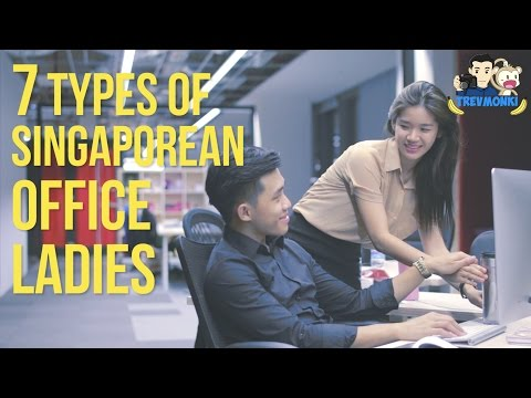 7 Types of Singaporean Office Ladies