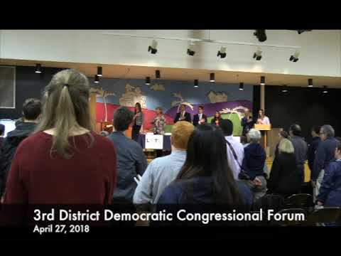 3rd District Democratic Congressional Forum, 2018