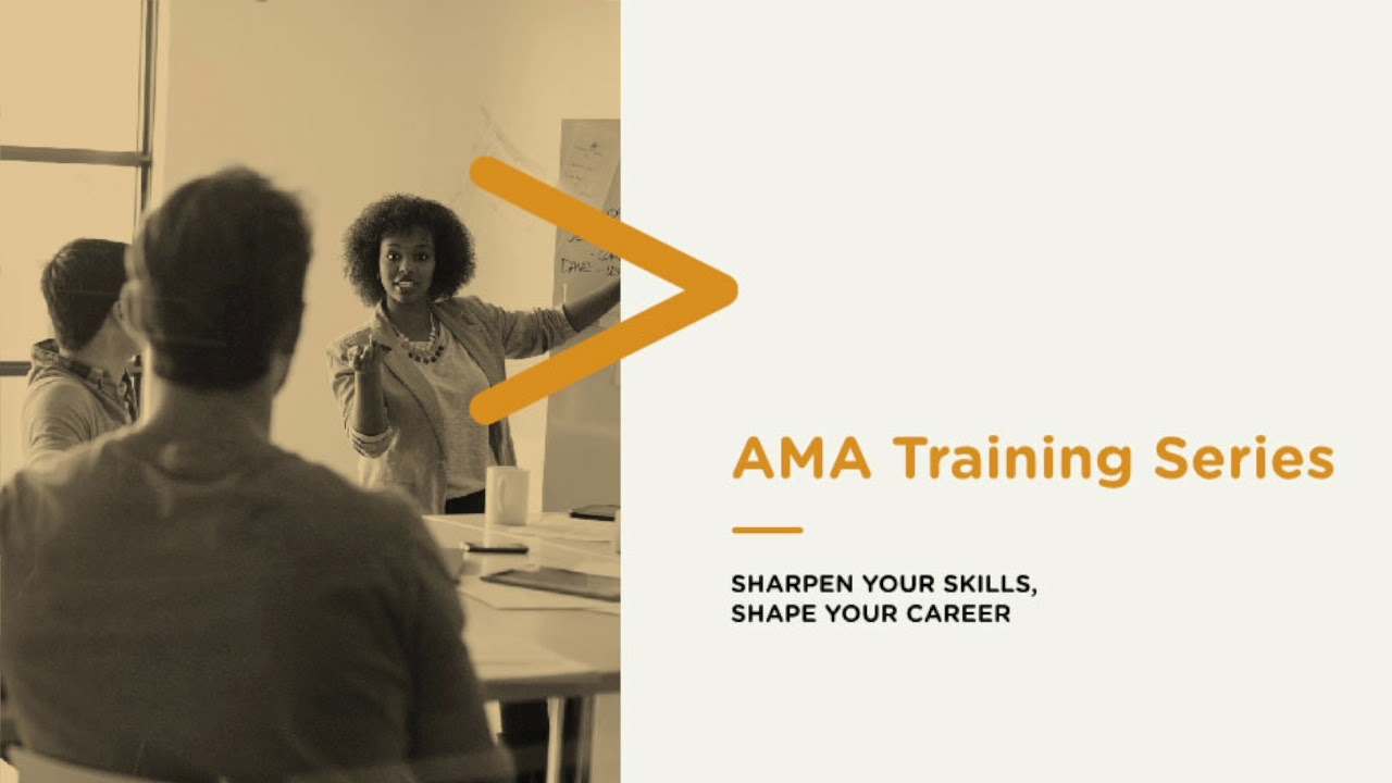 AMA Training Series: Advanced Branding and Positioning Preview- June 20-21,  2018 Preview