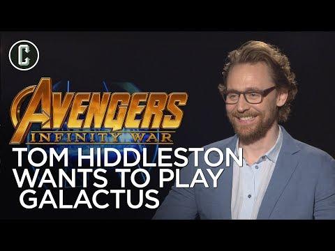 Tom Hiddleston Wants To Play Galactus