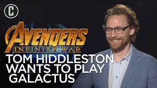 Tom Hiddleston On Wanting to Play Galactus and His Best Comic-Con Memory