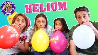 HELIUM & FLACHWITZE mit Ballons - Mickey Maus lässt grüßen :-) | Family Fun