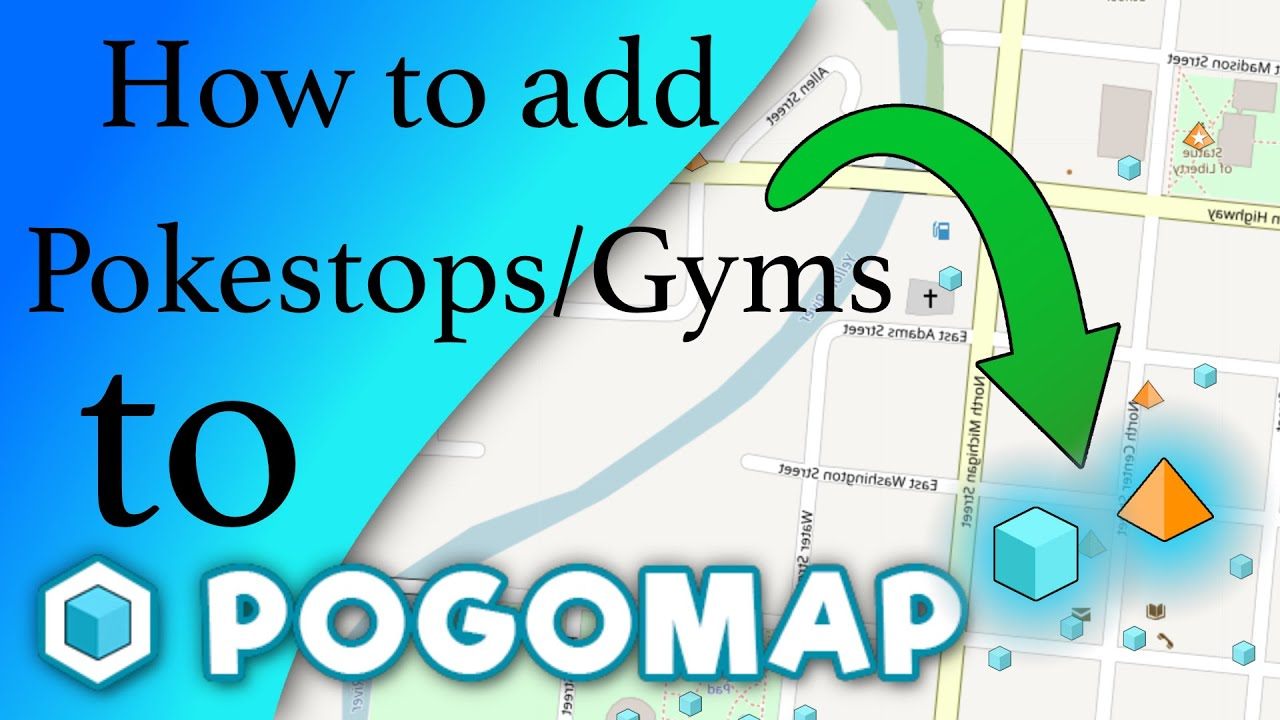 How to add Pokestops and Gyms to PogoMap info