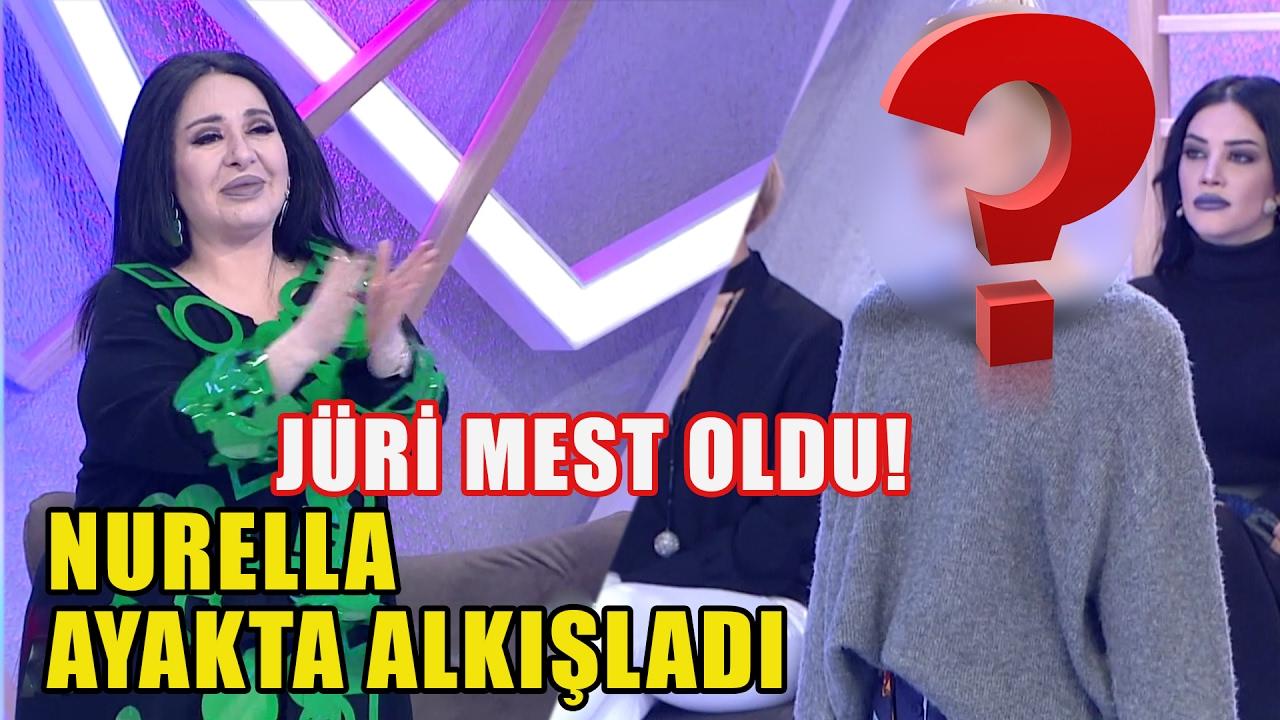 Nurella O Yarışmacıyı Ayakta Alkışladı - Jüri Mest Oldu!