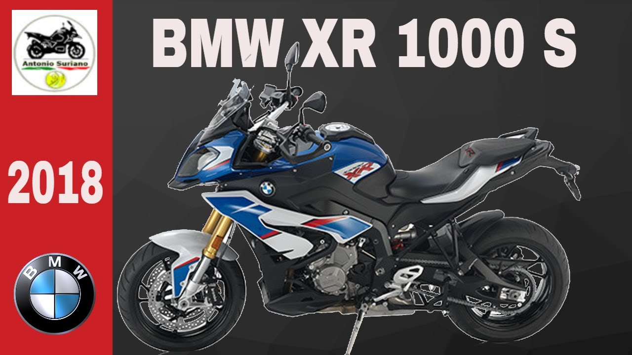 BMW S 1000 XR NEW COLOR 2018 - YouTube