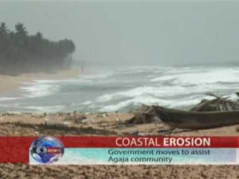AGAJA BEACH EROSION IN LAGOS