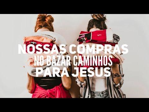 40 PEÇAS POR R$ 30,00: Compras no Bazar Caminhos para Jesus | Trashy Fame
