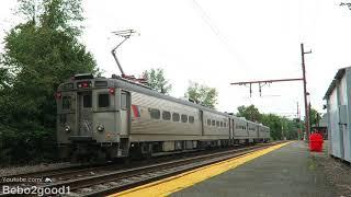 NJ Transit Gladstone Branch (Arrow III) at Murray Hill, NJ & Crossing
