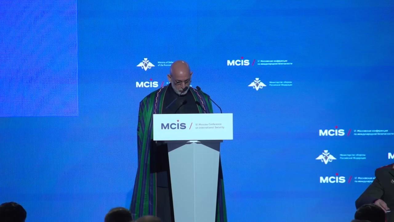 Выступление Экс-президента Исламской Республики Афганистан Хамида Карзая