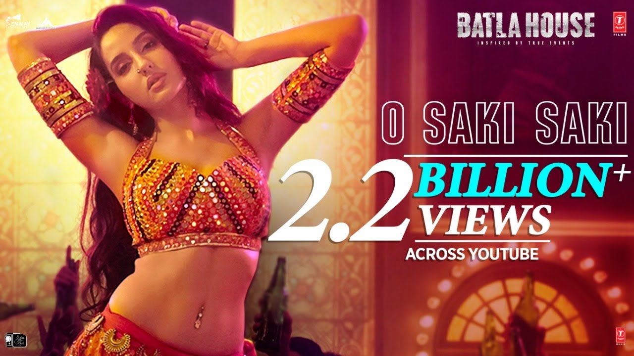 Download Batla House: O SAKI SAKI Video | Nora Fatehi, Tanishk B, Neha K, Tulsi K, B Praak, Vishal-Shekhar