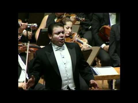 Yo soy Mexicano - Tenor Mauro Calderon y la Orq Sinfónica de Minería