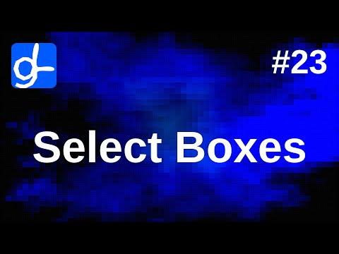 HTML Forms: Select Boxes (4/5) • Web Development 23