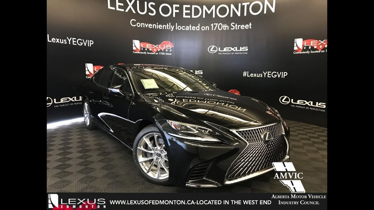 2018 Lexus Ls 500 Executive Package Review Youtube