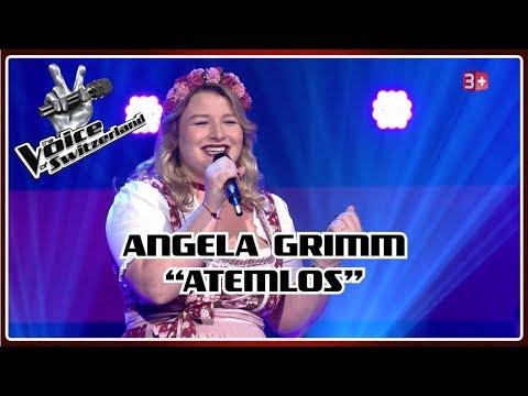 Angela Grimm - Atemlos durch die Nacht   Blind Auditions   The Voice of Switzerland