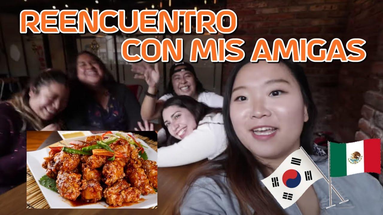 Download MIS AMIGAS ESTÁN FACINADAS POR ESTO🐔 | POLLO FRITO ESTILO COREANO 멕시코시티에서 한국치킨 먹으러 가기🐔