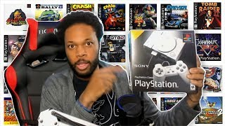 PLAYSTATION CLASSIC HACK! [Playstation Classic Unboxing & Adding Games]