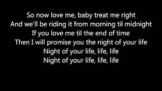David Guetta- Night Of Your Life (lyrics)