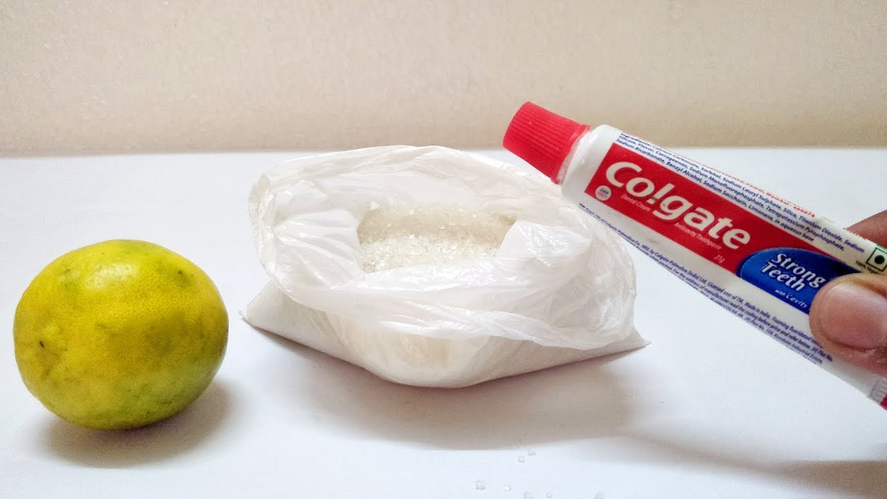 TOOTHPASTE, LEMON & SUGAR That Will Change Life Forever | Hand Glowing Beauty Tips Skin Life Hac