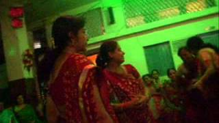 Sanedo  dance at Kharagpur Gujarati Navratri Garba