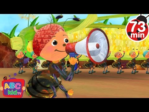 Ants Go Marching | + More Nursery Rhymes & Kids Songs - ABCkidTV