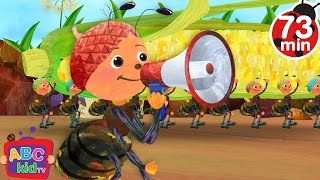 Ants Go Marching (2D) | +More Nursery Rhymes & Kids Songs - Cocomelon (ABCkidTV)