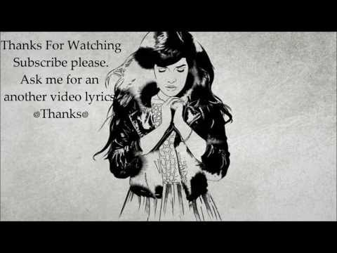 ♡ Indila- Dernière Danse / Paroles (lyrics) ♡