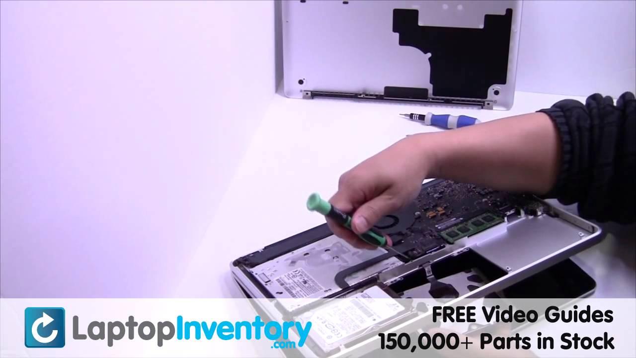 apple macbook pro a1278 touchpad replacement palmrest repair guide rh youtube com Cell Phone Repair Laptop Repair Diagram