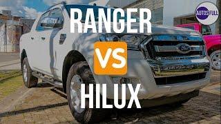 Ford Ranger Vs Toyota Hilux | Cual Es Mejor ?