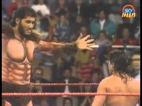 Giant Gonzalez vs Jim Powers