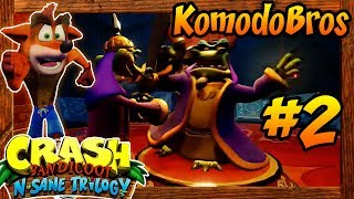 ABM: Crash Bandicoot 2 Cortex Strikes Back !! N.SANE TRILOGY!! Playthrough 2!! HD PS4