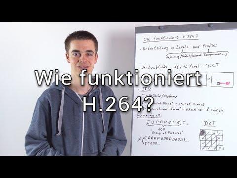 Wie funktioniert die AVC / H.264 Codierung?