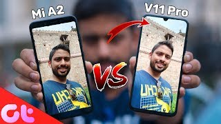 Vivo V11 Pro vs Mi A2 Camera Comparison | SHOCKING RESULTS!!