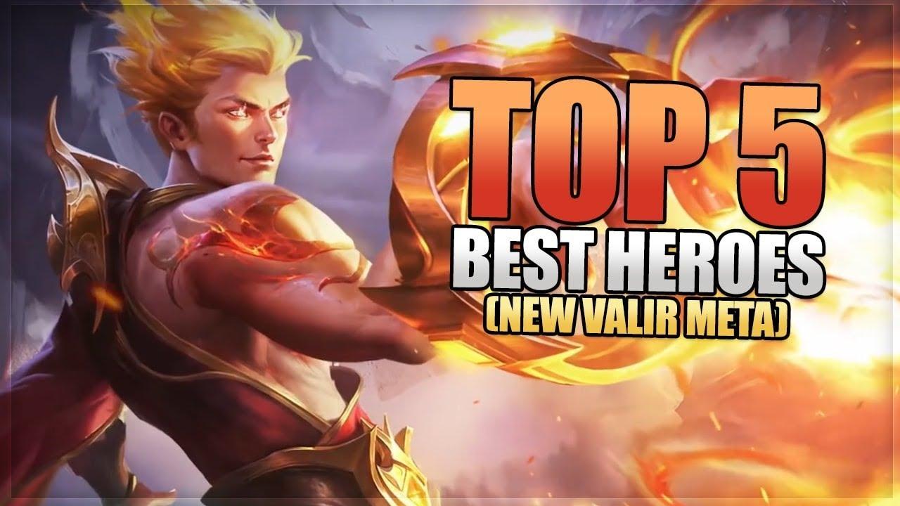 Mobile Legends: Top 5 Best Heroes - New Hero Valir Might Build A New Meta