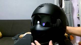 Ru0026C重機部品-Scorpion exo combat helmet unboxing