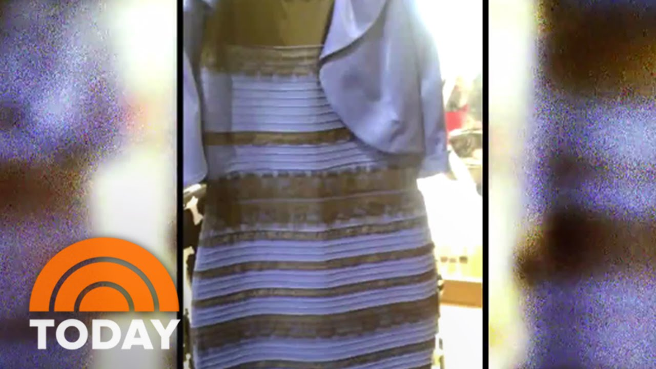 The Dress Debate Settled Black And Blue Or White And Gold Today Youtube