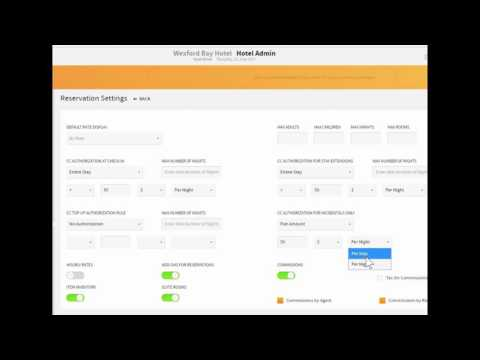 Credit Card Authorizations Rover Pms
