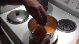Making Green Tomato Relish