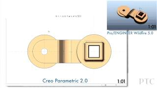 CREO vs. PRO/Engineer - битва гигантов. Создание эскизов