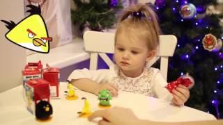Энгри Бердз & Sweet Box сюрпризы подарки игрушки открываем Angry Birds surprise gifts toys open