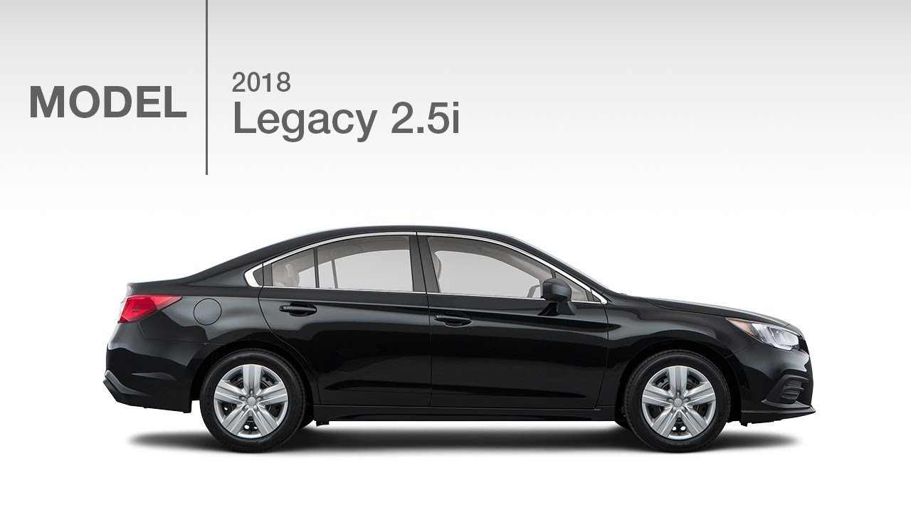 2018 Subaru Legacy 2.5i Base | Model Review - YouTube