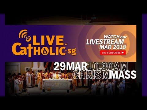 Chrism Mass 2018 @ Church of the Transfiguration