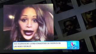 """Anais Entrevista """"Despierta America"""" con Birmania Rios"""