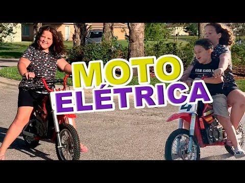 APRENDENDO A ANDAR  DE MOTO ELÉTRICA