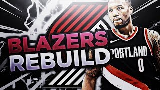 Best young big-men in the nba?!?! rebuilding the portland trail blazers!! nba 2k18 my league