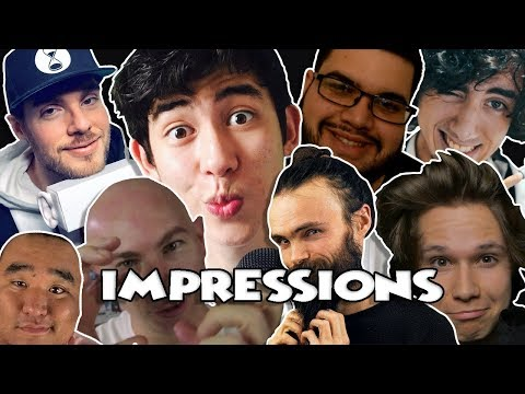 [ASMR] IMPERSONATIONS OF MALE ASMRTISTS #4