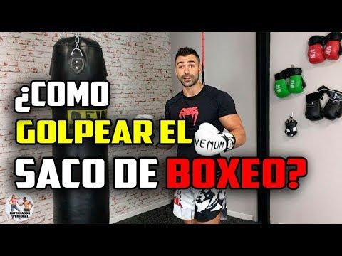 ¿COMO GOLPEAR EL SACO DE BOXEO? || BOXEO